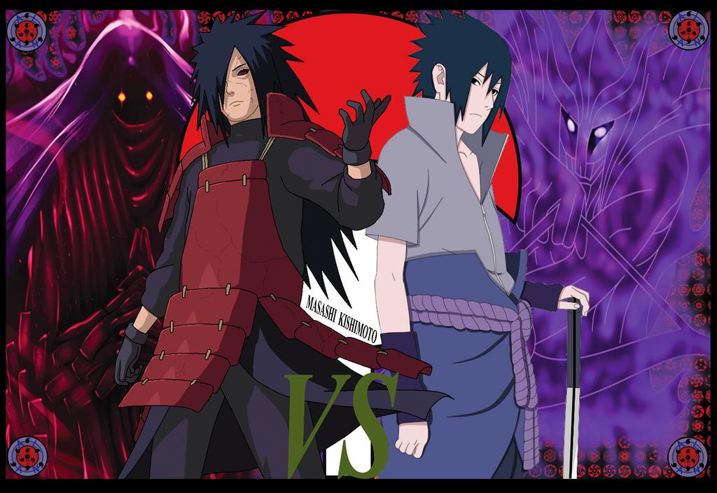 uchiha madara vs sasuke -#main