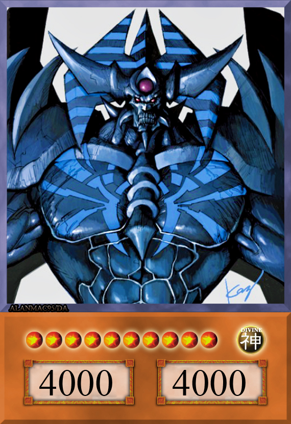 Yugioh obelisk the tormentor drawing obelisk the tormentor by