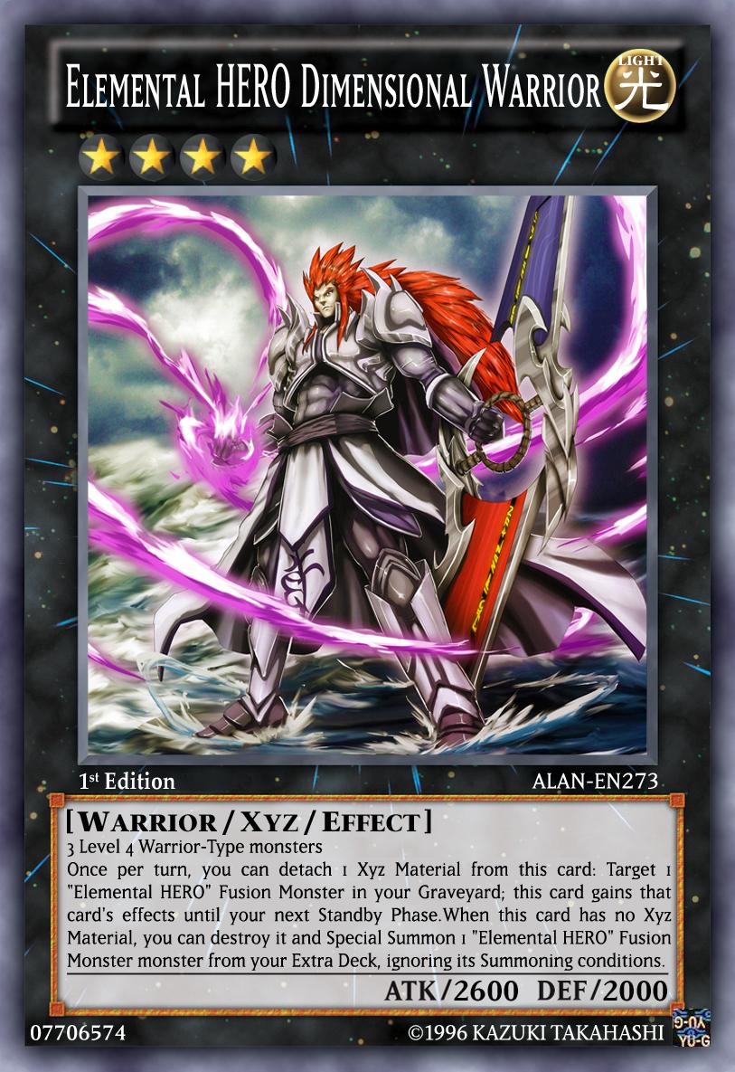 Elemental HERO Dimensional Warrior by ALANMAC95 on DeviantArt