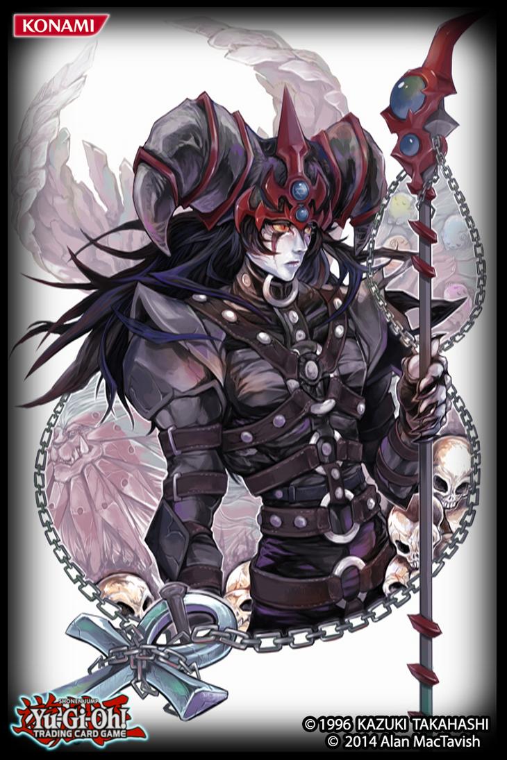 Dark Magician of Chaos - (card sleeve) by AlanMac95 on ...  Dark Magician o...