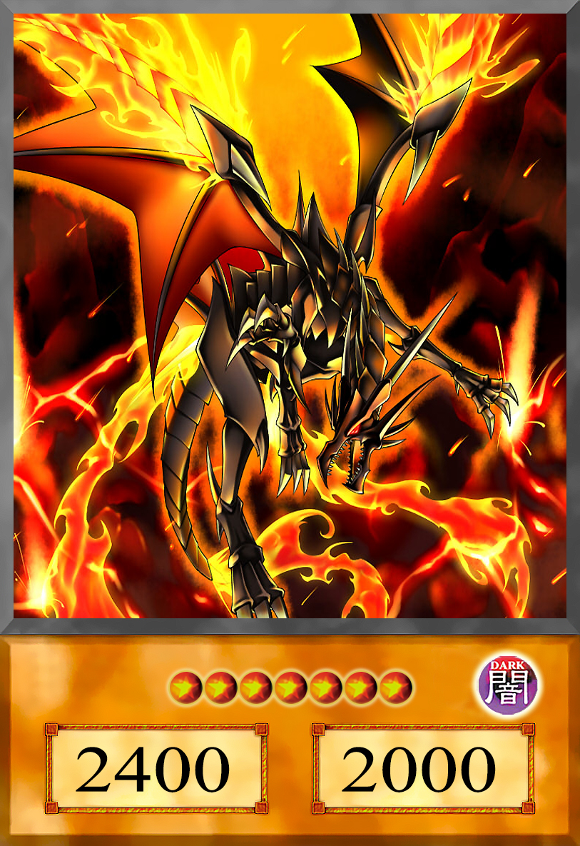 Red-Eyes Black Flare D... Dark Cyber End Dragon