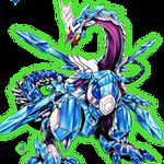 Odd-Eyes Absolute Dragon [Render]