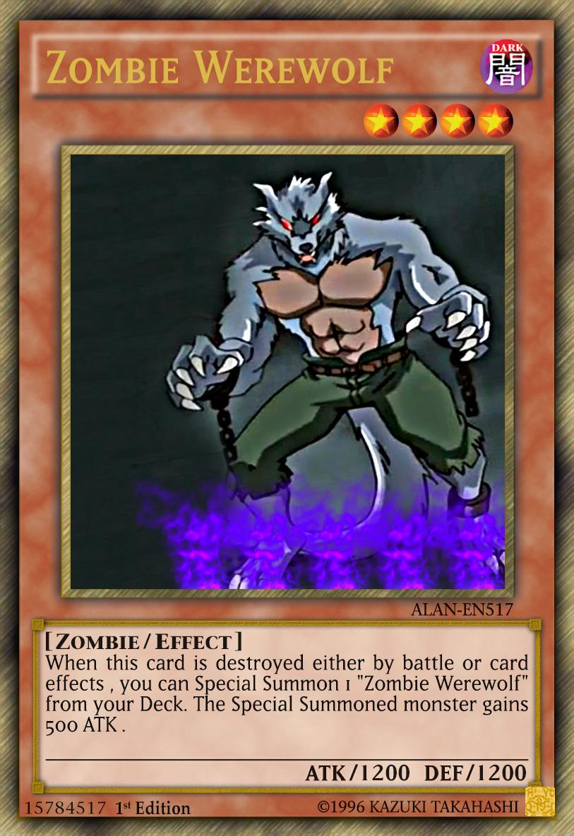 zombie werewolf by alanmac95 on deviantart