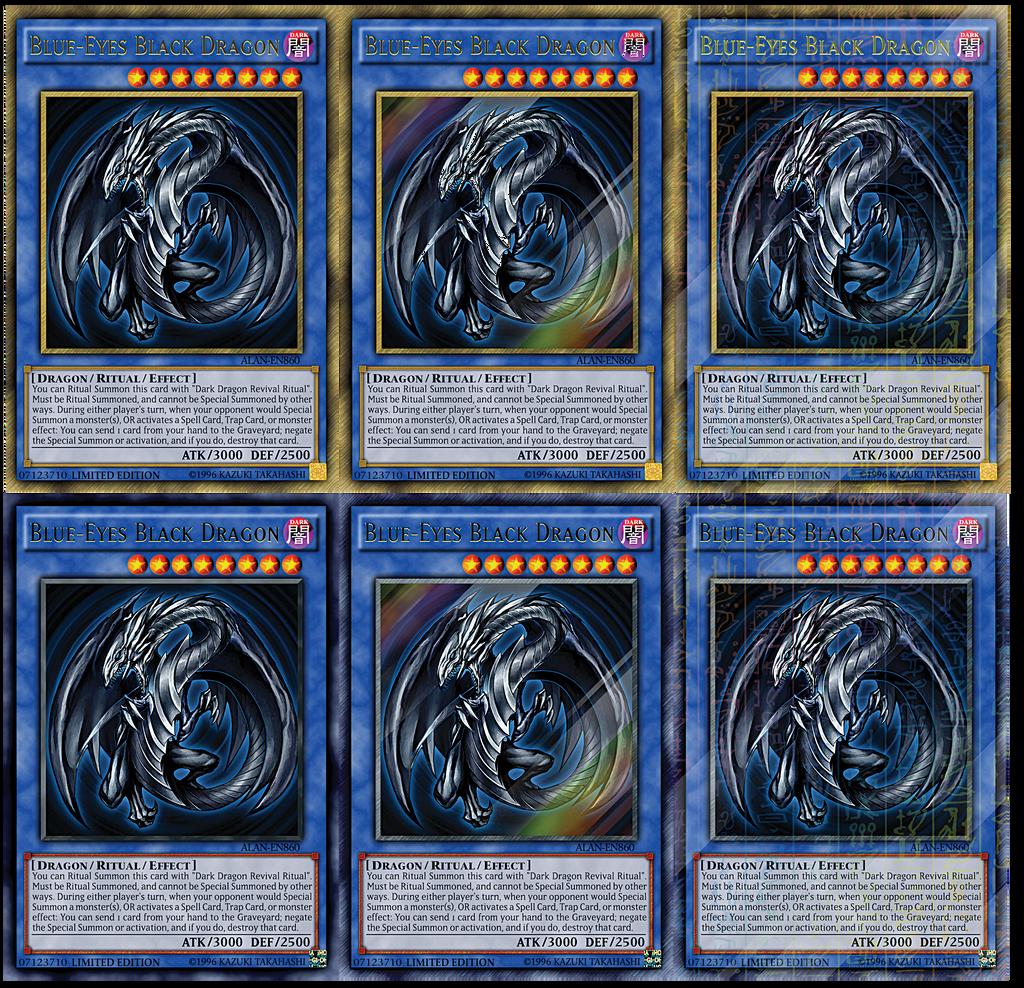 blue eyes black dragon by alanmac95 on deviantart