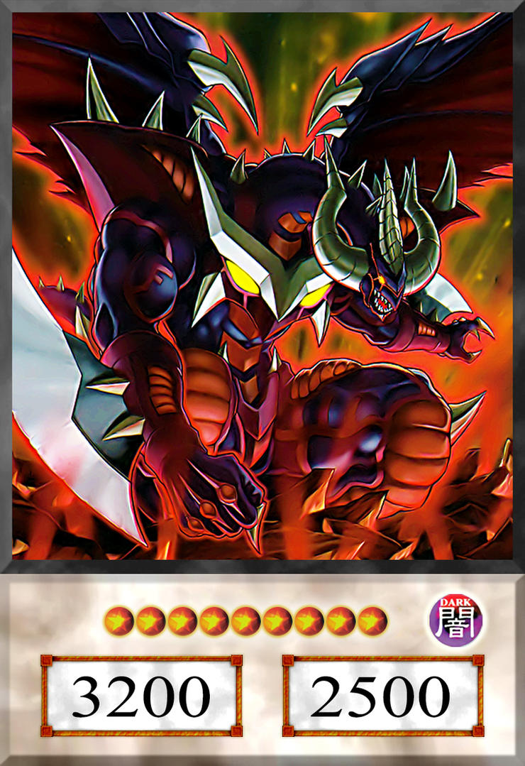 hot red dragon archfiend abyss anime by alanmac95 on