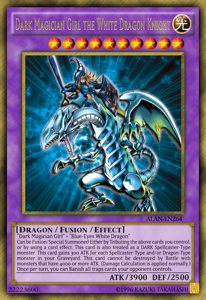 dark magician the white dragon knight by alanmac95 on deviantart
