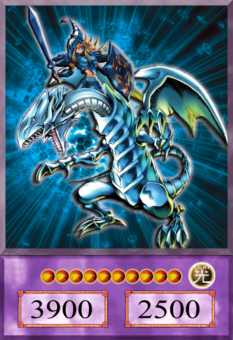 dark magician the white dragon knight anime by alanmac95 on
