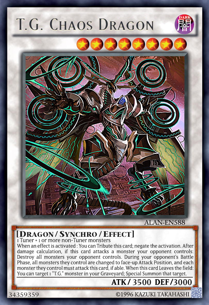T G  Chaos Dragon by AlanMac95 on DeviantArt