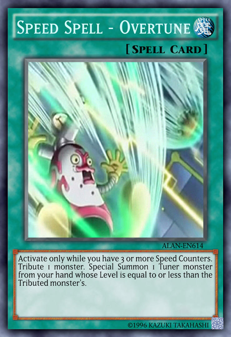 speed counter yugioh