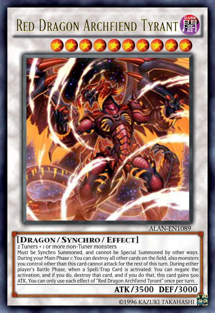 Red Dragon Archfiend Tyrant by ALANMAC95 on DeviantArt