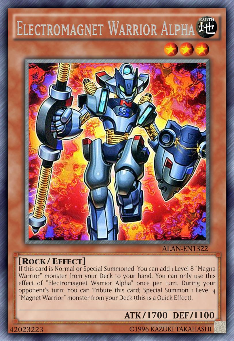 Electromagnet warrior alpha by alanmac95 on deviantart