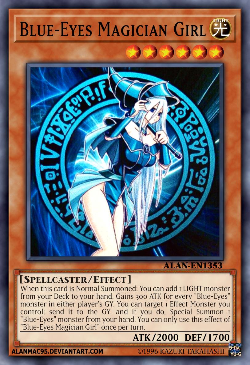 Blue-Eyes Magician Gir...