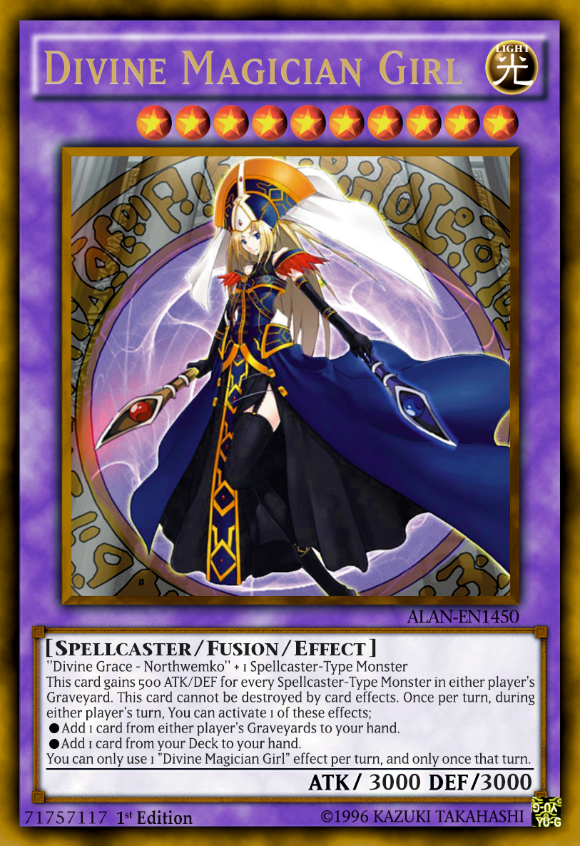 Magician From The Crystal Visions Tarot: Divine Magician Girl By ALANMAC95 On DeviantArt