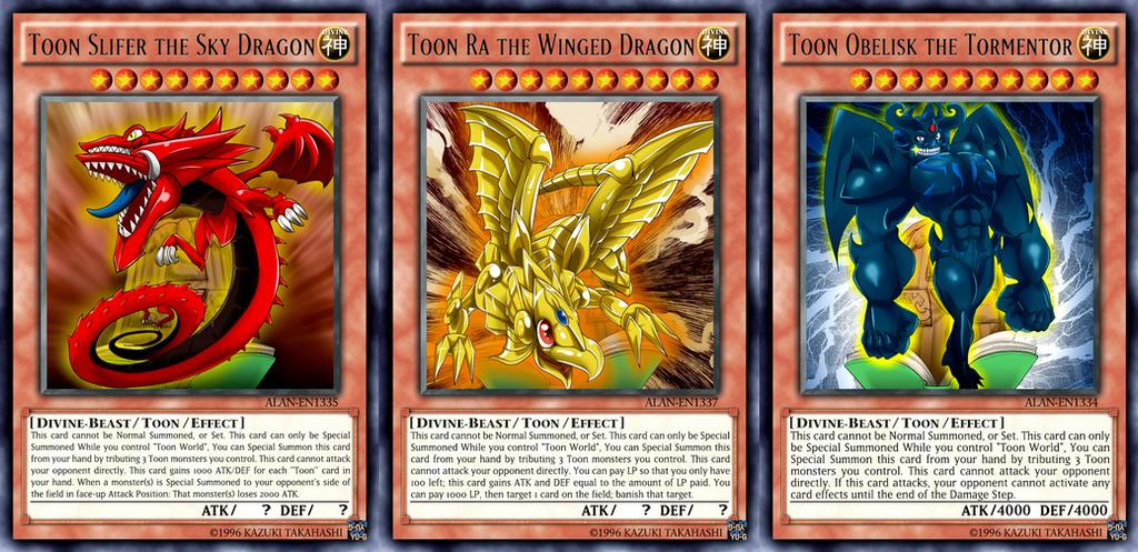 toon yu gi oh cards № 302440