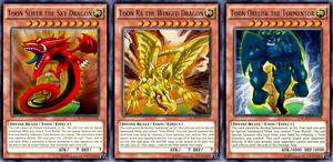 Toon Egyptian God Cards by AlanMac95