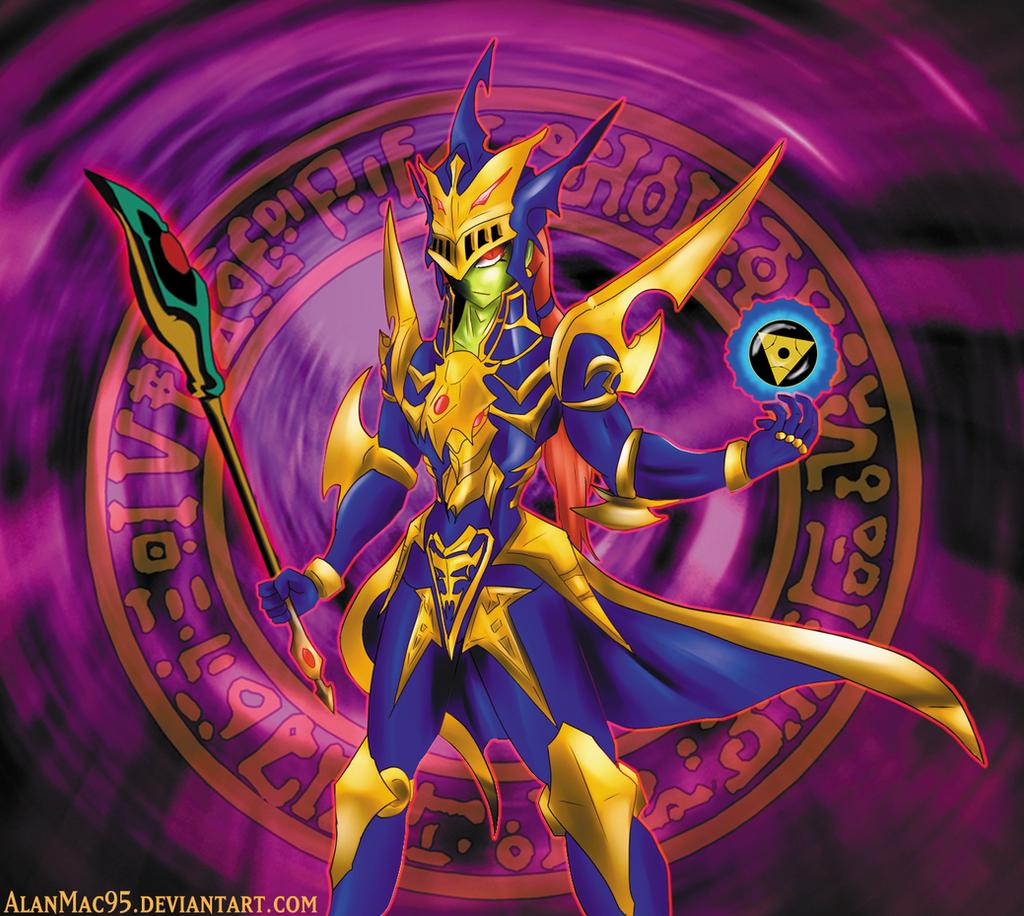 black luster magician artwork by alanmac95 on deviantart