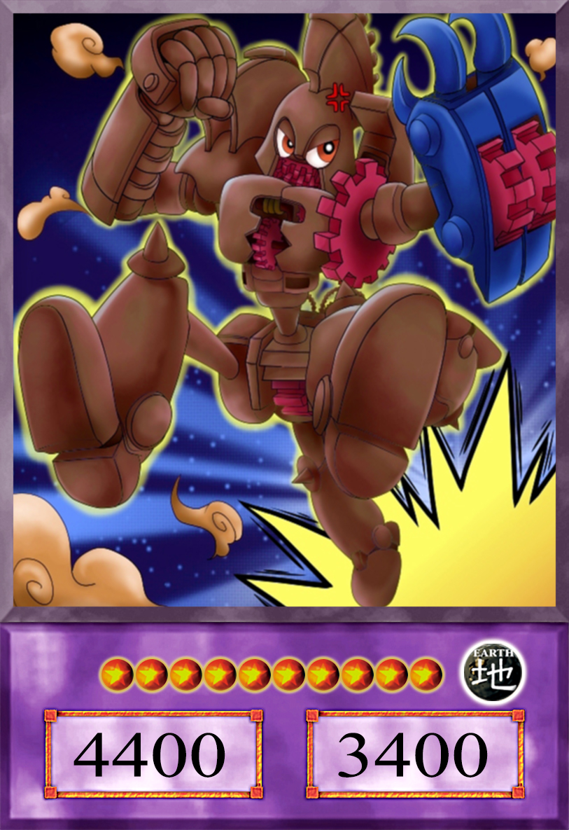 Toon Ultimate Ancient Gear Golem [Anime] by AlanMac95 on