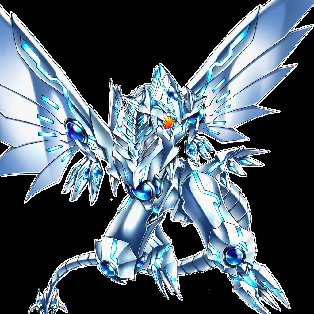 Line Art Render : Neo blue eyes shining dragon render by alanmac on