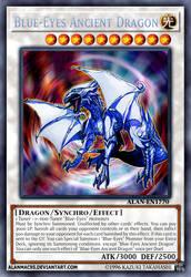 Blue-Eyes Ancient Dragon by AlanMac95
