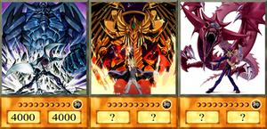 Yugioh Egyptian God cards