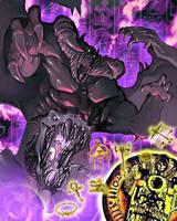 Zorc Necrophades,Creatorofthe Shadow Realm [Art] by AlanMac95