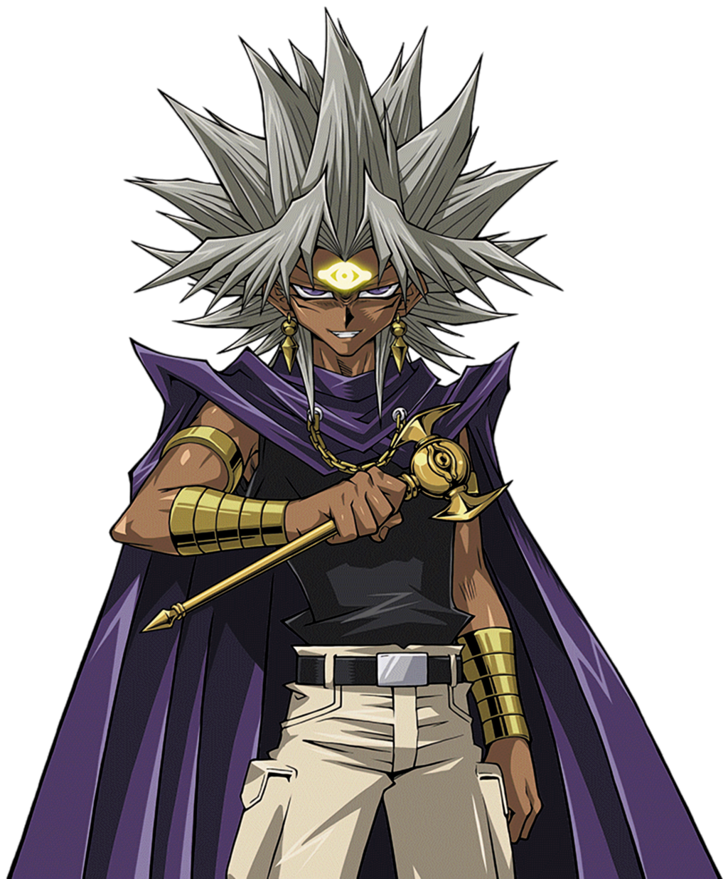 Yami Marik [render] By AlanMac95 On DeviantArt