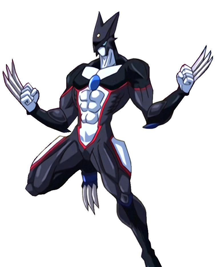 Elemental Hero Dark Neos: Render [Wingless] By AlanMac95