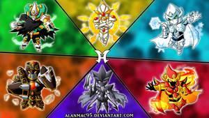 Elemental HEROES {Playmat}