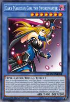 Dark Magician Girl the Swordmaster by AlanMac95