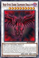 Red-Eyes Dark Crimson Dragon by AlanMac95