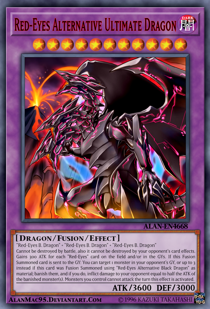 Red Eyes Alternative Ultimate Dragon By Alanmac95 On