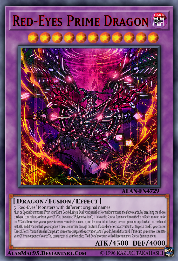 Red Eyes Prime Dragon By Alanmac95 On Deviantart I decided to stick with the red theme as opp. red eyes prime dragon by alanmac95 on