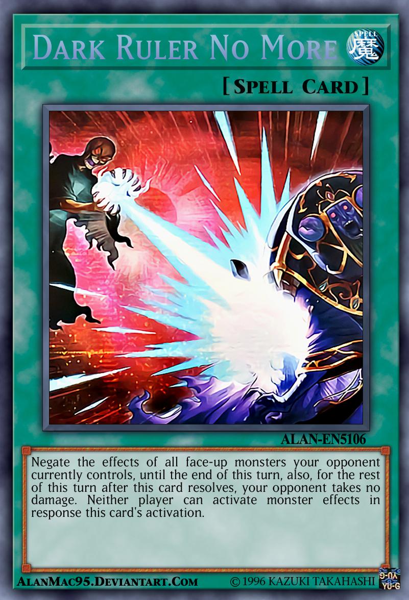 Yugioh Dark Ruler No More