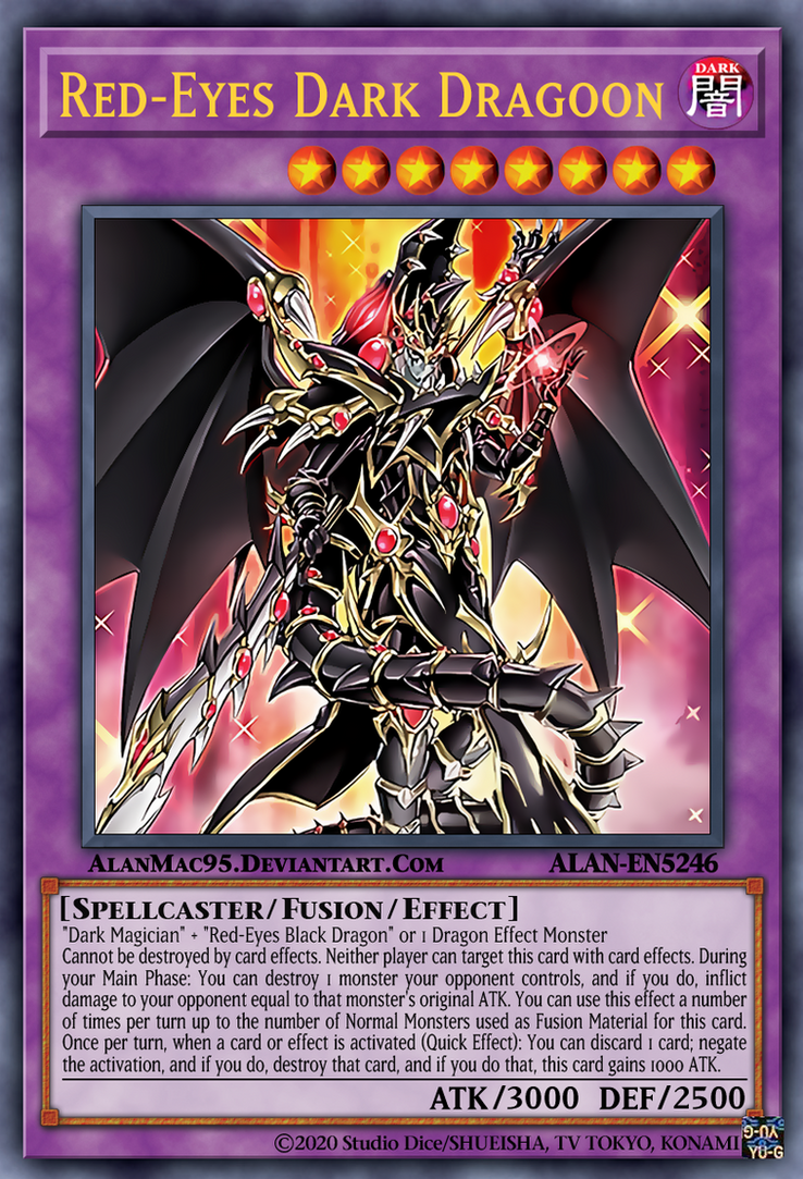 Red Eyes Dark Dragoon By Alanmac95 On Deviantart One of my favourite card designs! red eyes dark dragoon by alanmac95 on