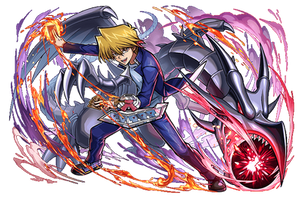 Joey and Red-Eyes B. Dragon