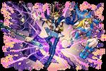 Yami Yugi and The Dark Magicians