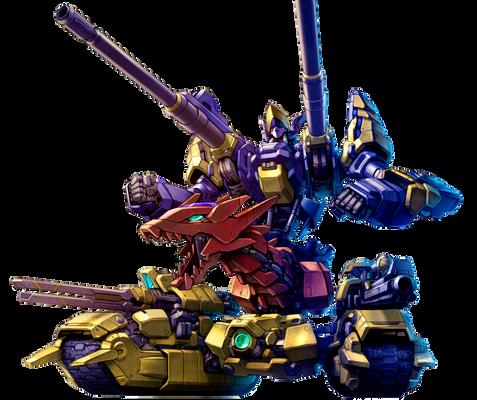 XYZ-Dragon Cannon [render]
