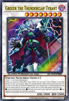 Grozer the Thunderclap Tyrant