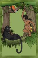 Shonen Mowgli by RyujiOtogi