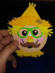 Church Scarecrow Magnet by Dinner101