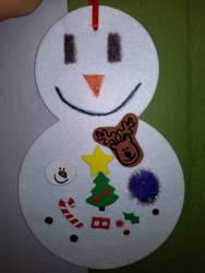 Church Snowman by Dinner101
