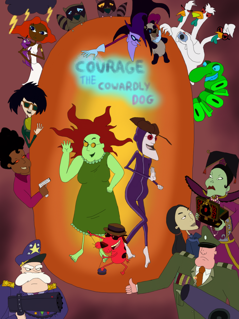 Courage The Cowardly Dog Poster 3 by WhiteMageOfTermina ...