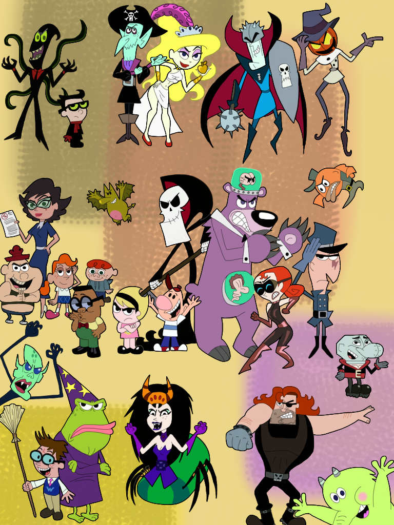 billy and mandy characters wwwpixsharkcom images