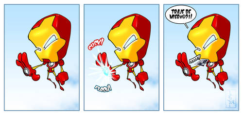 Super Humor #1 - Ironman by polru