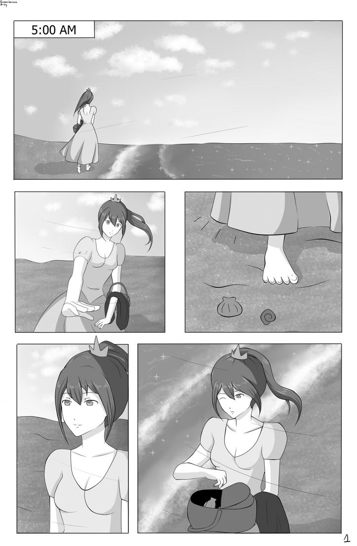Merman - Chapter 1 / Page 1 - Harugou by barbiea1000