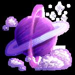 [PixelArt] Purple Planet F2U!