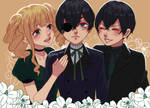 [Kuroshitsuji] Elizabeth, Smile and Ciel