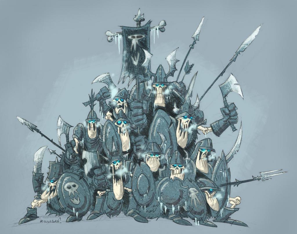 Undead Clump Formation by killigann
