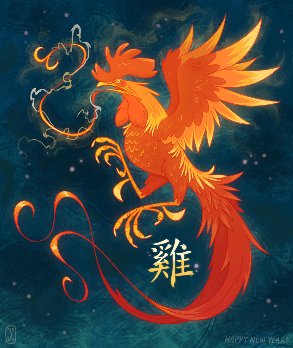 Year of the Rooster by killigann