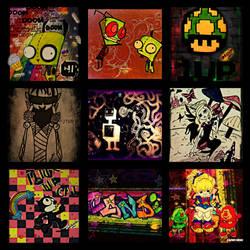 Candi Collage
